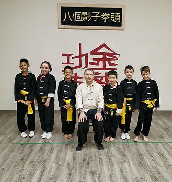 Kung Fu Kids Class