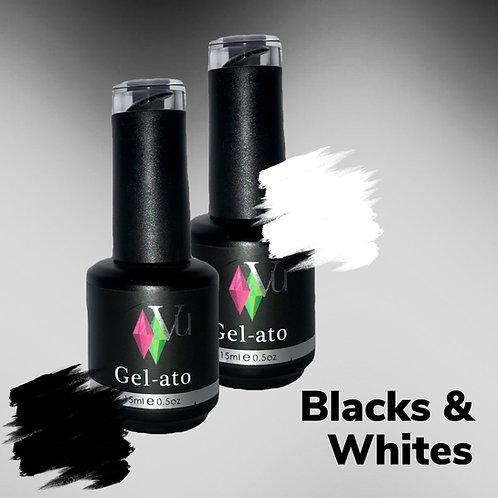 Gel-ato Blacks & Whites