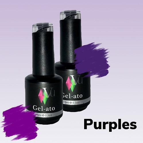Gel-ato Purples