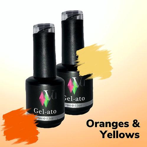 Gel-ato Oranges & Yellows