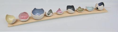Pastel Eggshell Bowls - Tracy Muirhead 4