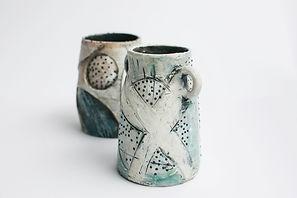 MY_Studio_ 2 texture vases.jpg