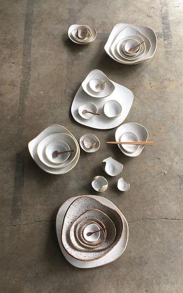 White Pebble Bowls - Tracy Muirhead 1 .j