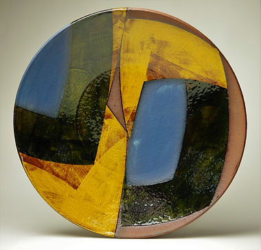 Dish, w42cm, terracotta.JPG