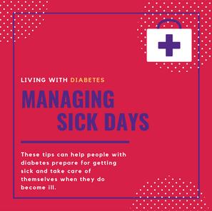 Diabetes: Managing Sick Days