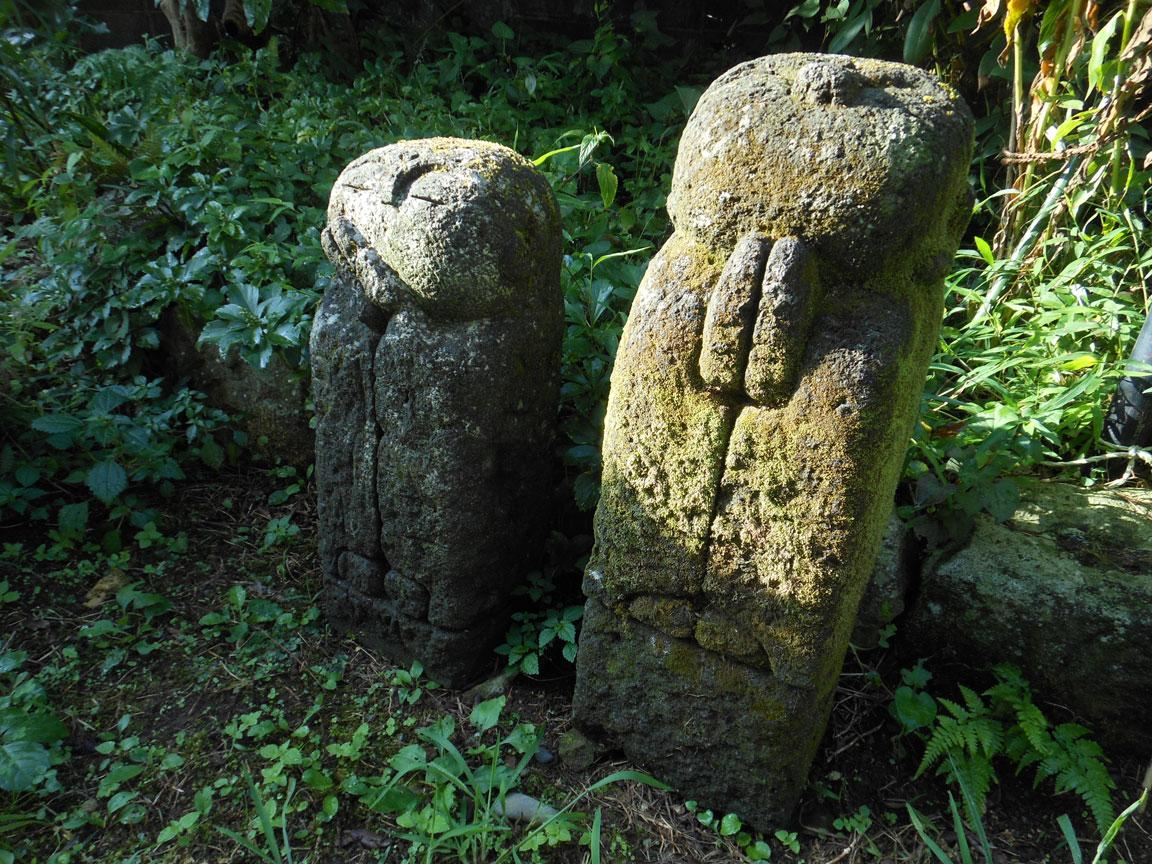 石オブジェ 地蔵1