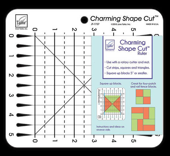 Charming Shape Cut Ruler