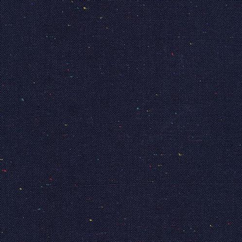 Navy Speckled Essex Linen from Robert Kaufman