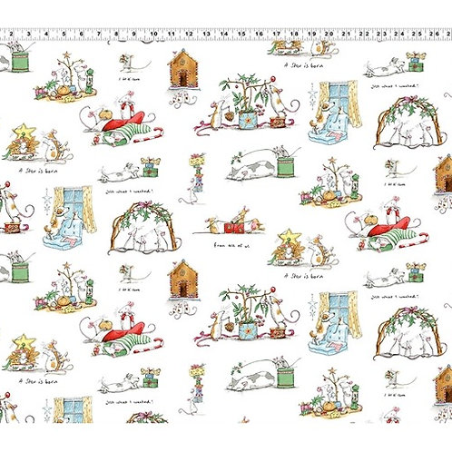 Christmas Scenes by Anita Jeram for Clothworks