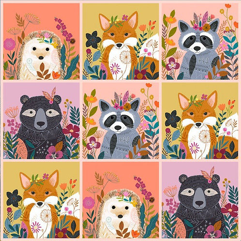 Panel from Wild by Bethan Janine for Dashwood Studio