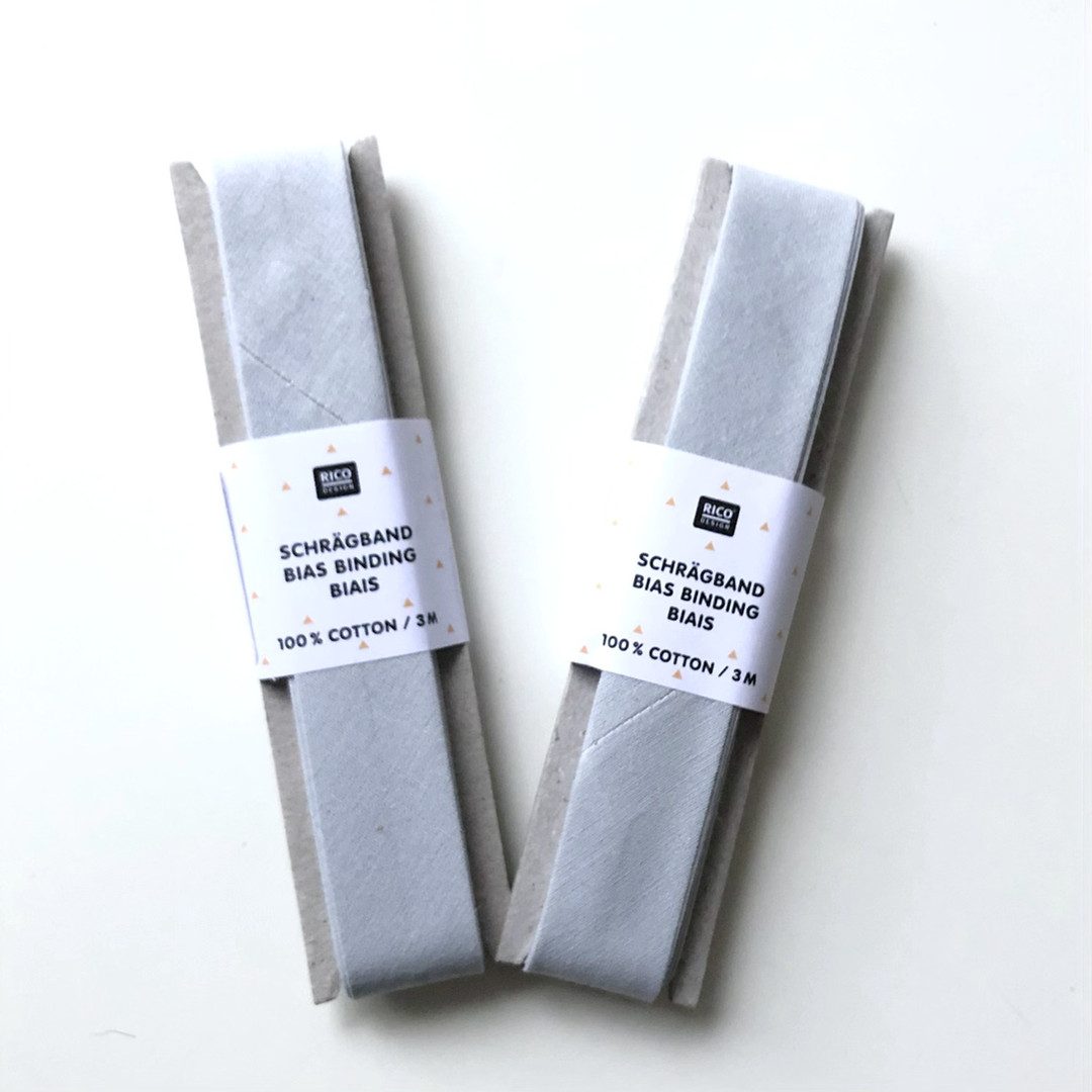 Grey Bias Binding