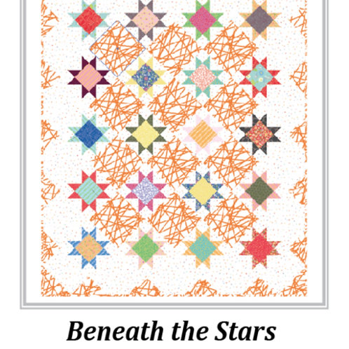 Beneath The Stars Quilt Pattern