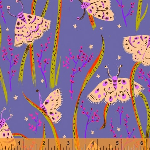 Moths from 20th Anniversary by Heather Ross for Windham Fabric