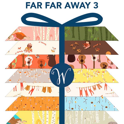 PRE/ORDER Far Far Away 3 Charm Pack by Heather Ross