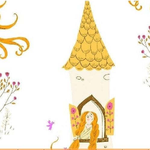 Rapunzel, Far Far Away 2 by Heather Ross for Windham Fabrics