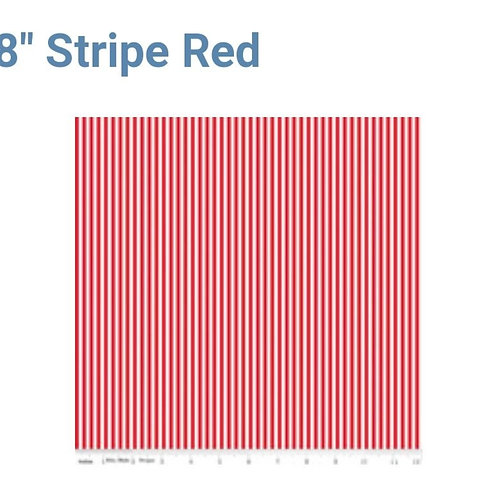 "1/8"" Red Stripe from Riley Blake"