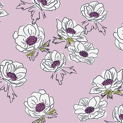 Anemone Cascade from Trouvaille for Art Gallery Fabrics
