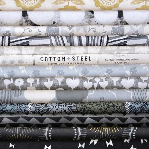 "Newsprint 5"" x 10"" Bundle from Around The World for Cotton + Steel"