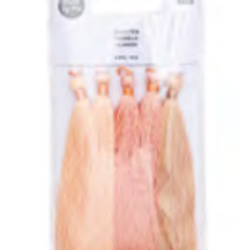 Pack of 5 Tassels in Nude Shades from Rico Design