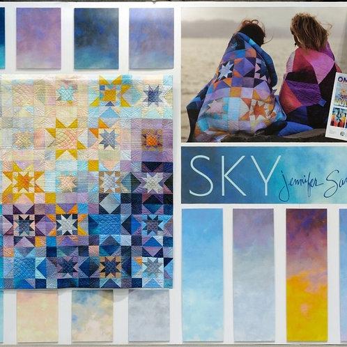 """Sky Ombre 5"""" Bundle by Jennifer Sampou"""