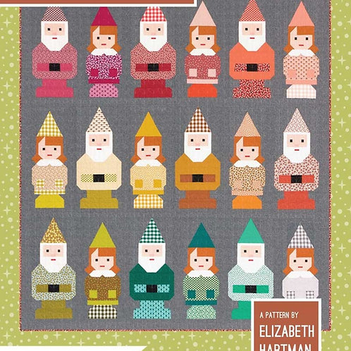 Norm & Nanette Patchwork Quilt Pattern