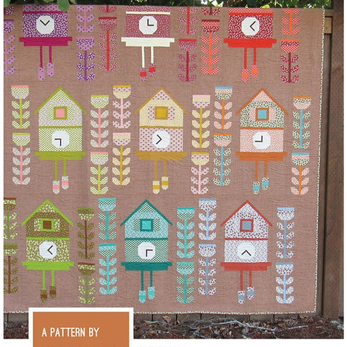 Cuckoo Quilt Pattern from Elizabeth Hartman
