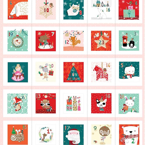 Party Time Advent Panel from Dashwood Studios