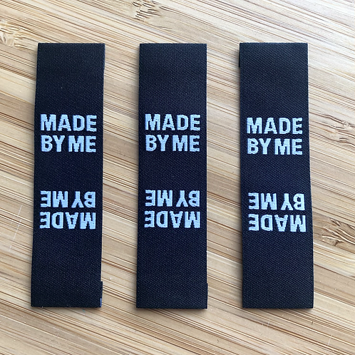 Pack of 3 Made By Me Labels