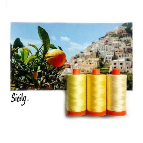 Aurifil Sicily Colour Builder