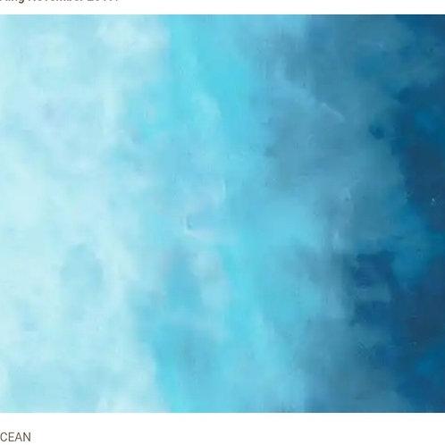 Ocean from Sky by Jennifer Sampou for Robert Kaufman