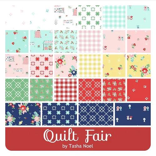 PRE-ORDER Quilt Fair Charm Pack by Tasha Noel for Riley Blake D