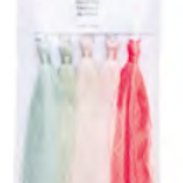 Pack of 5 Tassels in Pastel Shades from Rico Design
