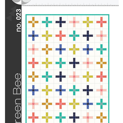 The Plus Quilt Pattern by Green Bee