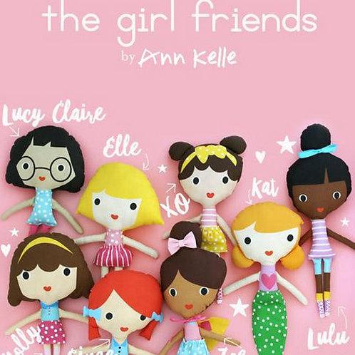 XO Girlfriends Doll Panel
