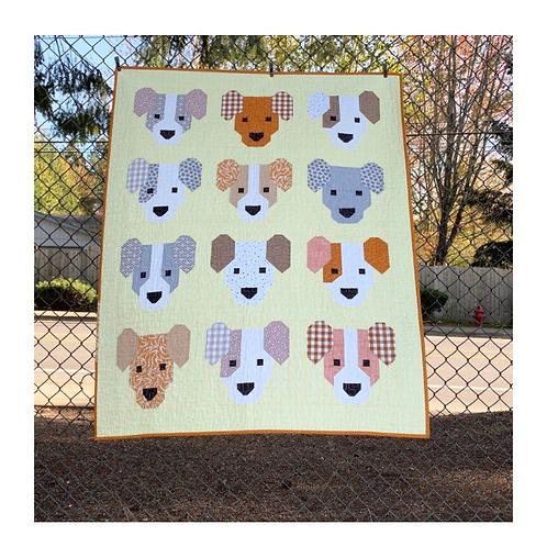 Puppies Pattern from Elizabeth Hartman