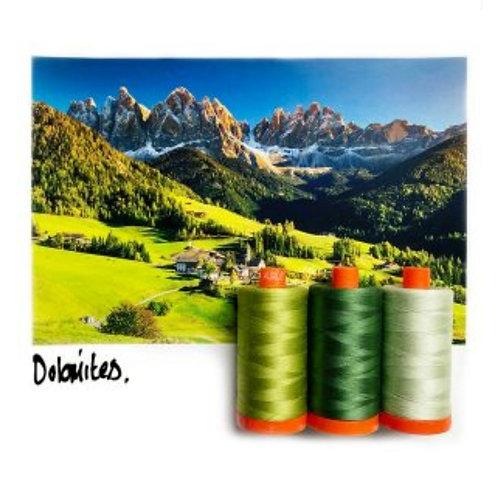 Aurifil Dolomite Colour Builder