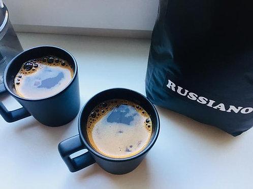 """Кофе """"Руссиано"""" с 11 минутной обжаркой ( Extra Strong )"""
