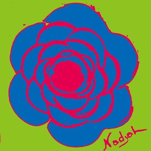 La Flor Pop Art #2