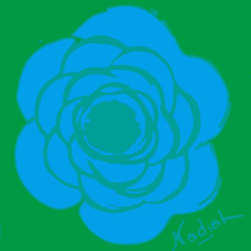 La Flor Pop Art #38