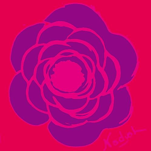 La Flor Pop Art #23