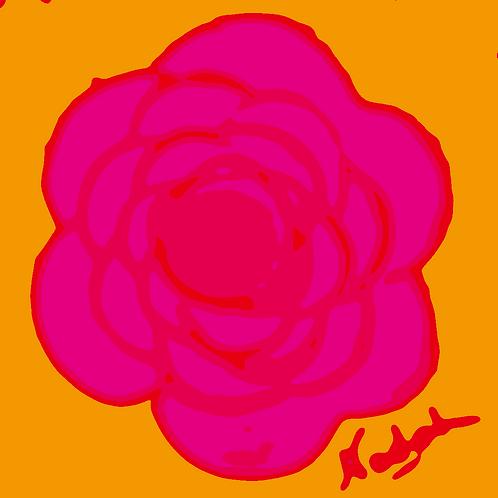 La Flor Pop Art #77