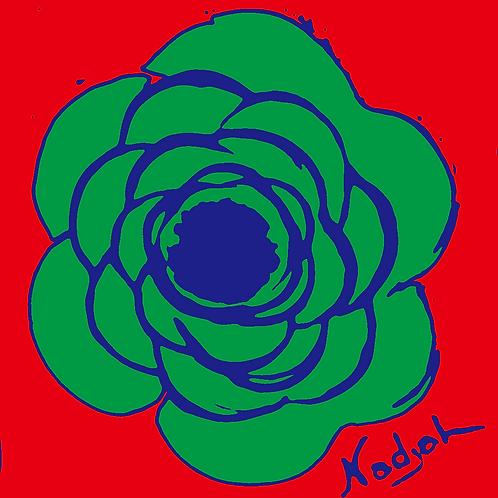 La Flor Pop Art #16