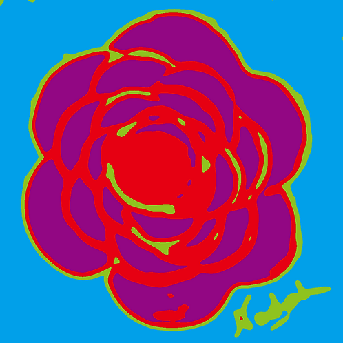 La Flor Pop Art #48