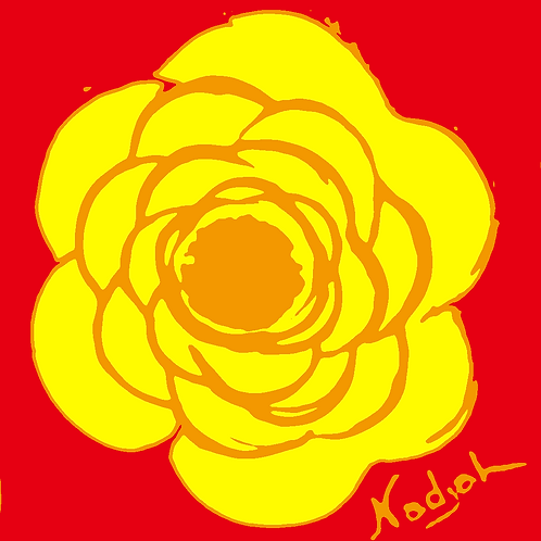 La Flor Pop Art #45
