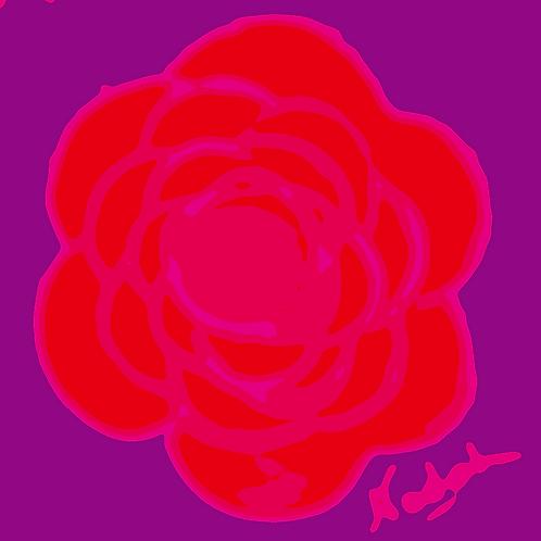 La Flor Pop Art #82