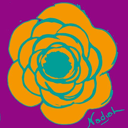 La Flor Pop Art #25