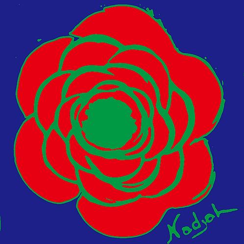 La Flor Pop Art #24