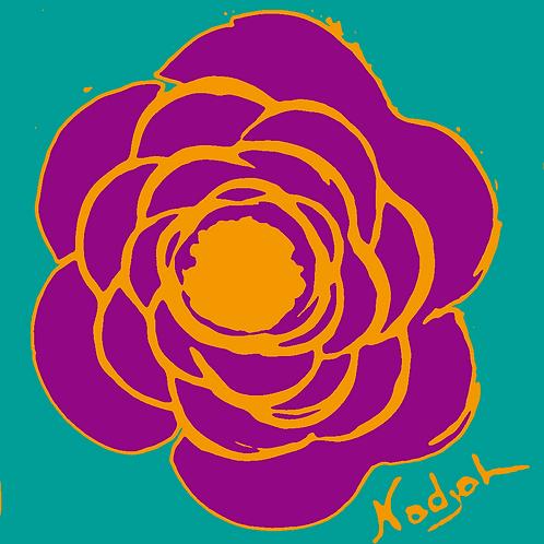 La Flor Pop Art #10