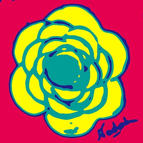 La Flor Pop Art #66