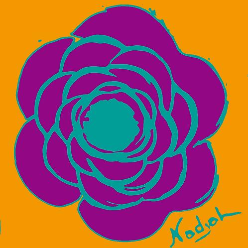 La Flor Pop Art #22